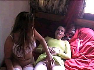 Lesbian Roommates screw